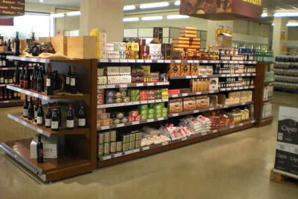 Equipamiento comercial estanter as almacenamiento - Accesorios para supermercados ...